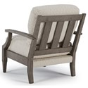 Best Home Furnishings Accent Chairs Alecia Accent Chair with Slatted Wood Back