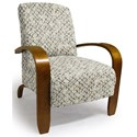 Best Home Furnishings Accent Chairs Maravu Exposed Wood Accent Chair - Item Number: 3800-26082