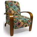 Best Home Furnishings Accent Chairs Maravu Exposed Wood Accent Chair - Item Number: 3800-28118