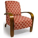 Best Home Furnishings Accent Chairs Maravu Exposed Wood Accent Chair - Item Number: 3800-28424