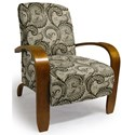 Best Home Furnishings Accent Chairs Maravu Exposed Wood Accent Chair - Item Number: 3800-28529