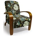 Best Home Furnishings Accent Chairs Maravu Exposed Wood Accent Chair - Item Number: 3800-28603