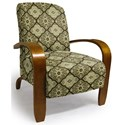 Best Home Furnishings Accent Chairs Maravu Exposed Wood Accent Chair - Item Number: 3800-28653