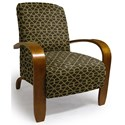 Best Home Furnishings Accent Chairs Maravu Exposed Wood Accent Chair - Item Number: 3800-29095