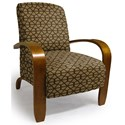 Best Home Furnishings Accent Chairs Maravu Exposed Wood Accent Chair - Item Number: 3800-29099