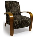Best Home Furnishings Accent Chairs Maravu Exposed Wood Accent Chair - Item Number: 3800-29116