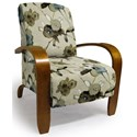 Best Home Furnishings Accent Chairs Maravu Exposed Wood Accent Chair - Item Number: 3800-29139