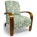 Best Home Furnishings Accent Chairs Maravu Exposed Wood Accent Chair - Item Number: 3800-30562