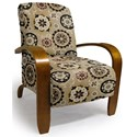 Best Home Furnishings Accent Chairs Maravu Exposed Wood Accent Chair - Item Number: 3800-31223