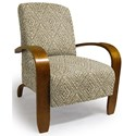 Best Home Furnishings Accent Chairs Maravu Exposed Wood Accent Chair - Item Number: 3800-31689