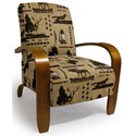 Best Home Furnishings Accent Chairs Maravu Exposed Wood Accent Chair - Item Number: 3800-31767