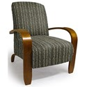 Best Home Furnishings Chairs - Accent Maravu Exposed Wood Accent Chair - Item Number: 3800-33023A