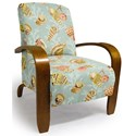 Best Home Furnishings Accent Chairs Maravu Exposed Wood Accent Chair - Item Number: 3800-33342