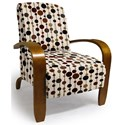 Best Home Furnishings Chairs - Accent Maravu Exposed Wood Accent Chair - Item Number: 3800-34037