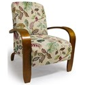 Best Home Furnishings Accent Chairs Maravu Exposed Wood Accent Chair - Item Number: 3800-34389