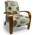 Best Home Furnishings Accent Chairs Maravu Exposed Wood Accent Chair - Item Number: 3800-34612