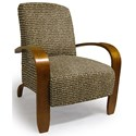 Best Home Furnishings Accent Chairs Maravu Exposed Wood Accent Chair - Item Number: 3800-34633
