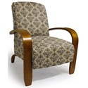 Best Home Furnishings Accent Chairs Maravu Exposed Wood Accent Chair - Item Number: 3800-35239