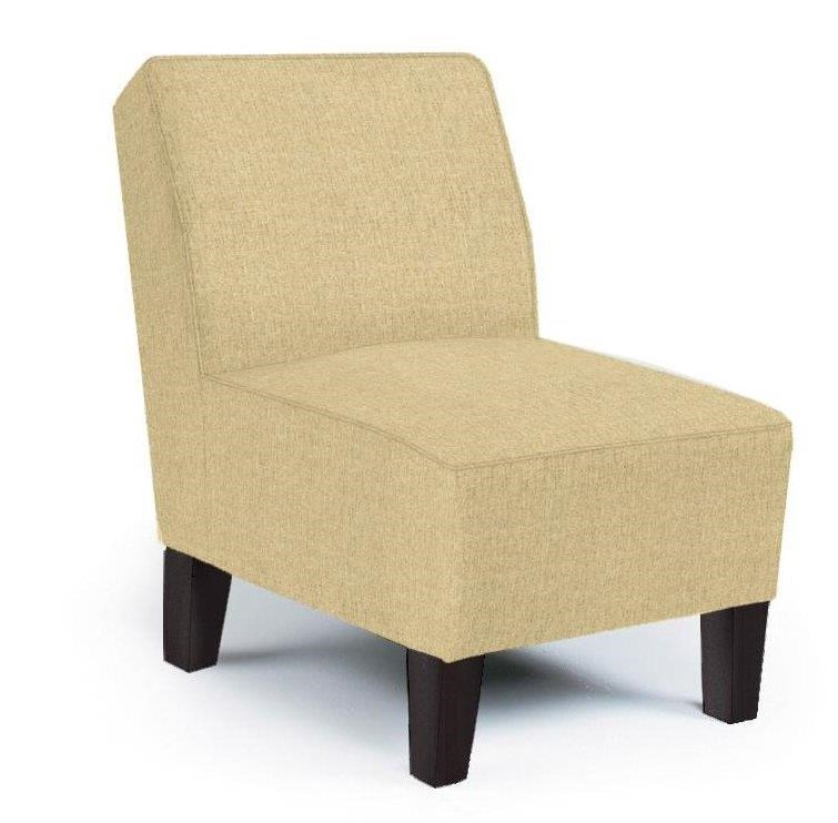 Best Home Furnishings Chairs - Accent Keara Exposed Wood Accent Chair - Item Number: 3830E 21957 LINEN