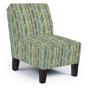 Best Home Furnishings Chairs - Accent Keara Exposed Wood Accent Chair