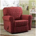 Morris Home Furnishings Chairs - Accent Irvington Swivel Glider Chair