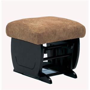 Morris Home Furnishings Glider Rockers Glider Ottoman