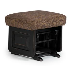 Morris Home Furnishings Glider Rockers Ottoman