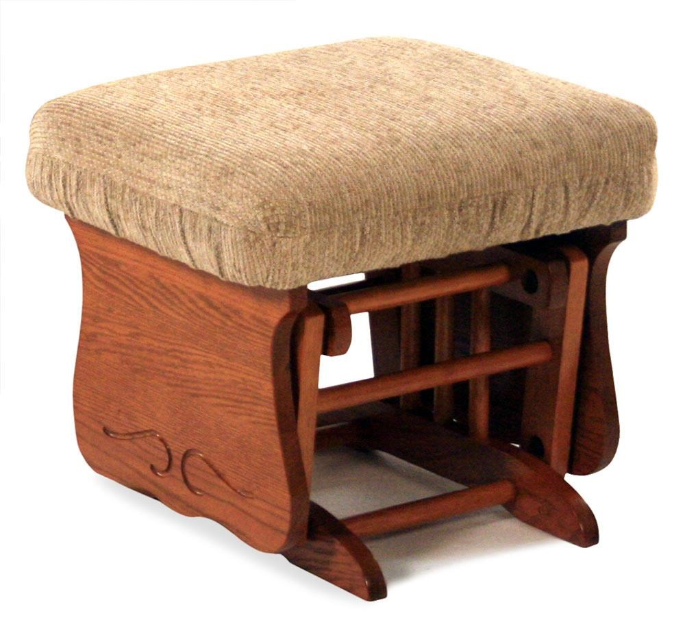 Best Home Furnishings Glider Rockers Glider Ottoman - Item Number: C0090-MO