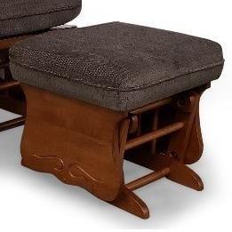 Glider Rockers Glider Ottoman by Bravo Furniture at Bennett's Furniture and Mattresses