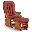 Best Home Furnishings Glider Rockers Gliding Rocker Chair