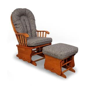 Sunday Glide Chair and Ottoman