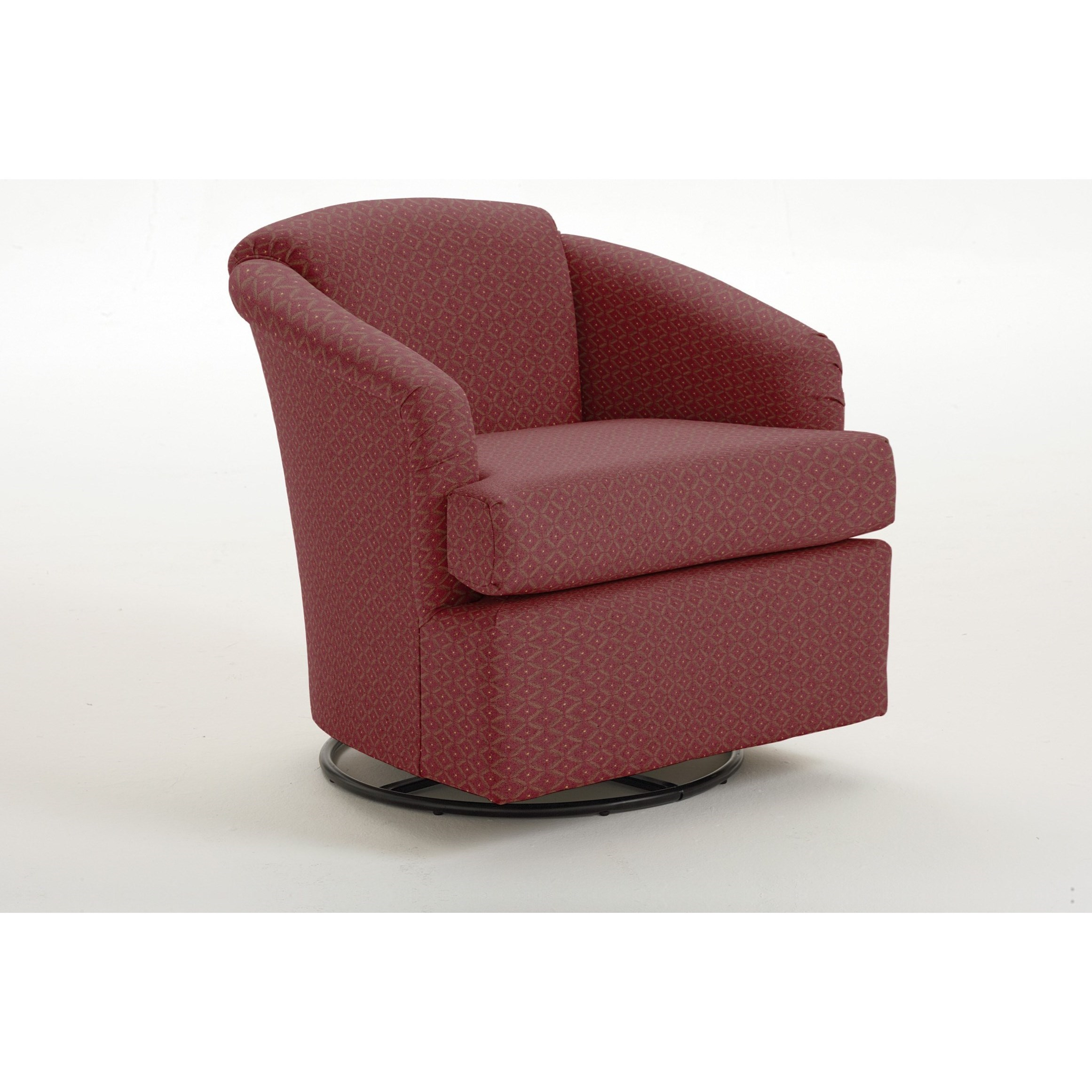 256 Cass Swivel Glider by Best Home Furnishings at Walker's Furniture