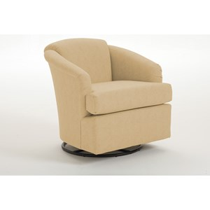 Best Home Furnishings Swivels Cass Swivel Chair