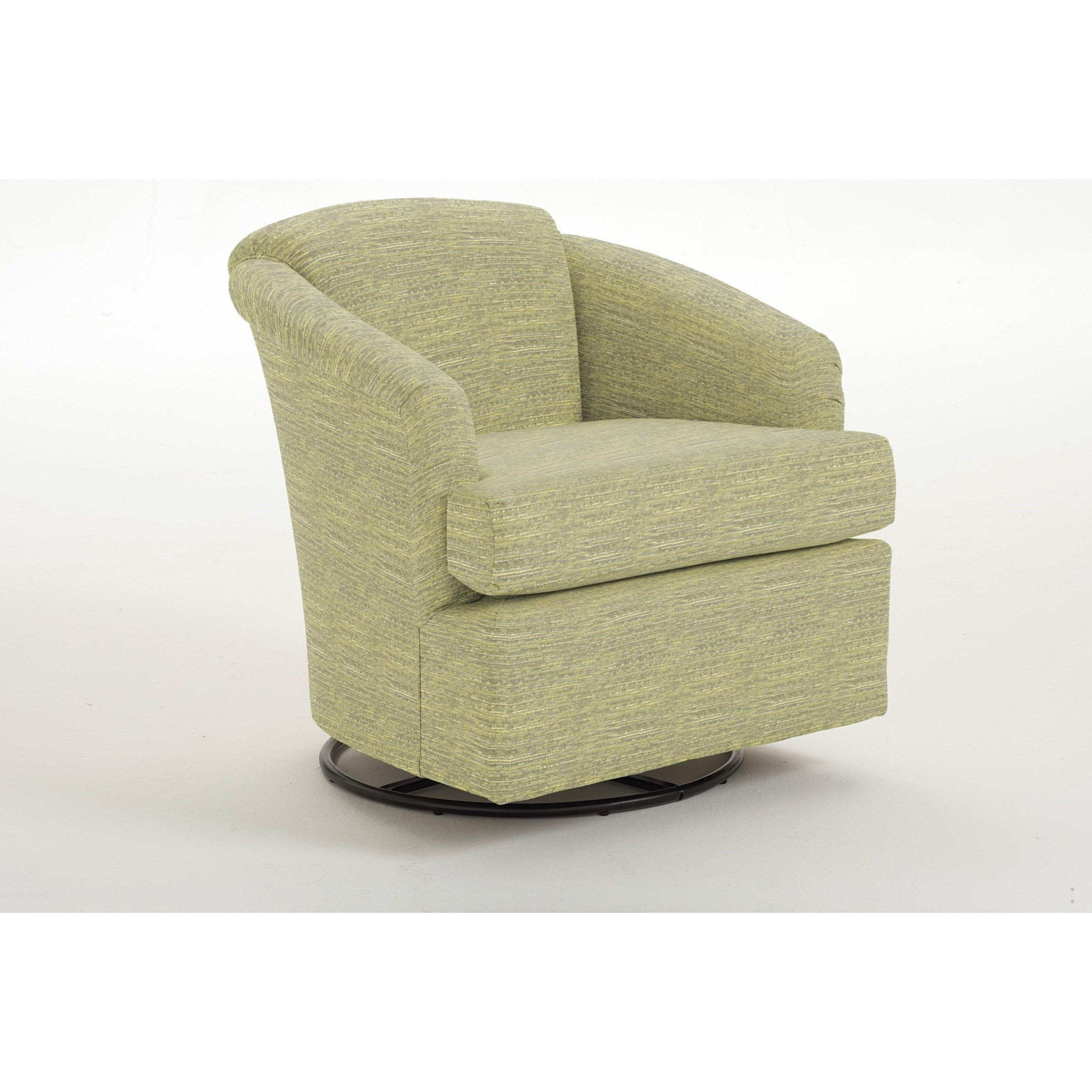 Best Home Furnishings Swivels Cass Swivel Chair - Item Number: 2568-1-21123