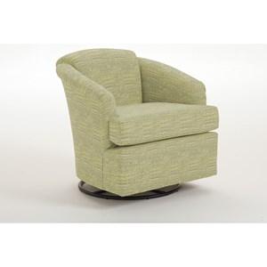 Best Home Furnishings Swivels Cass Swivel Chair