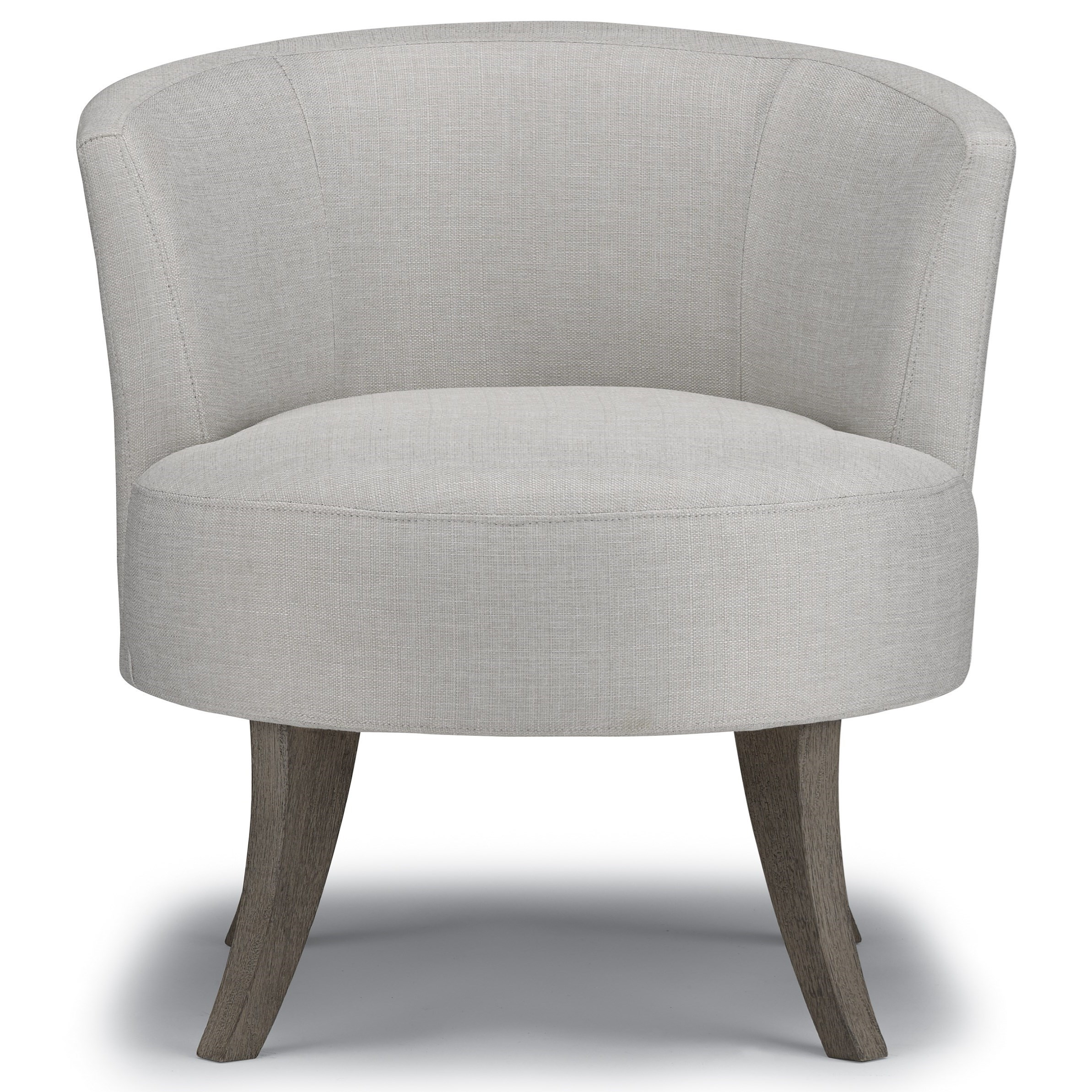 Best Xpress - Steffen Swivel Barrel Chair by Best Home Furnishings at Zak's Home