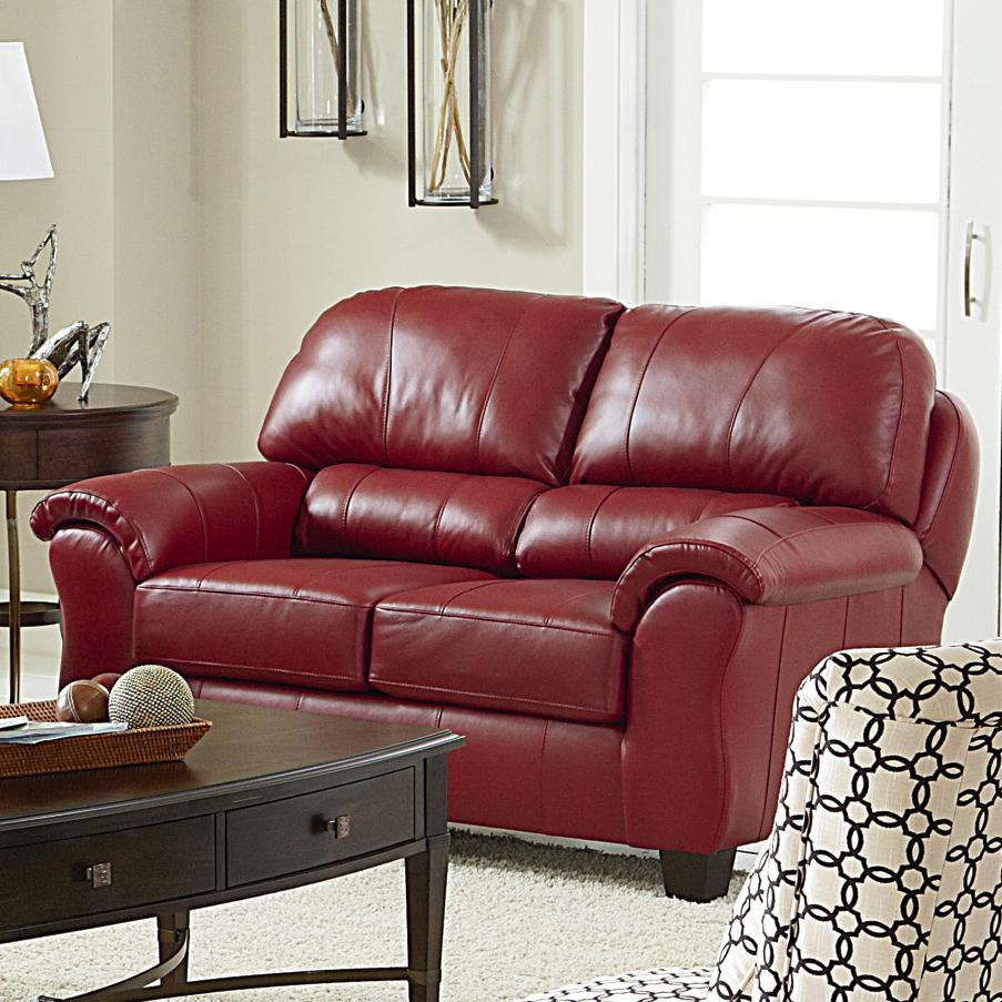 Best Home Furnishings Birkett Casual Loveseat With Pillow Arms And Block Feet Rife 39 S Home