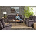 Best Home Furnishings Bodie Rocking Reclining Loveseat with Storage Console - L760RC7
