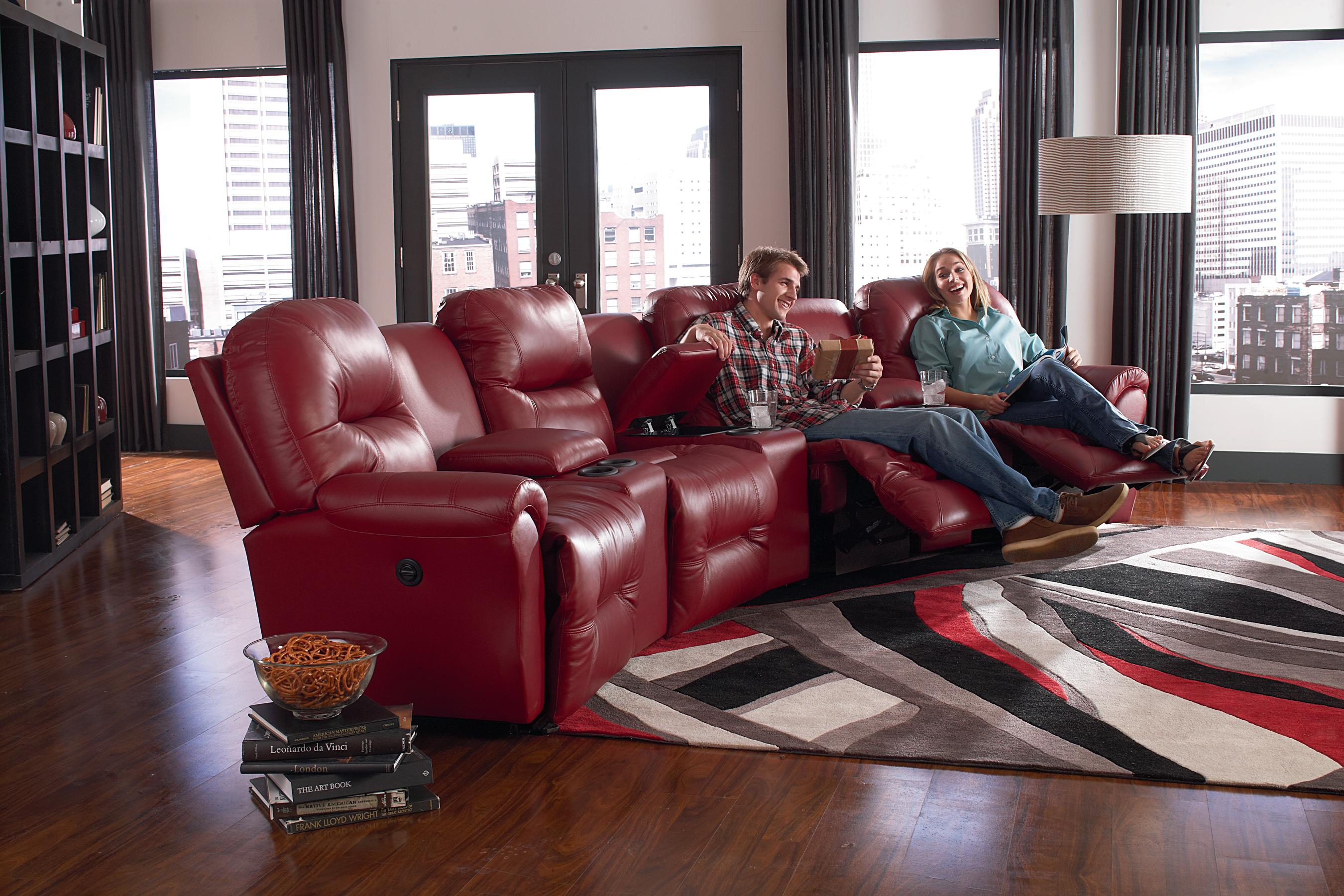 Best home furnishings bodie 4 seater power reclining home for Best home furnishings