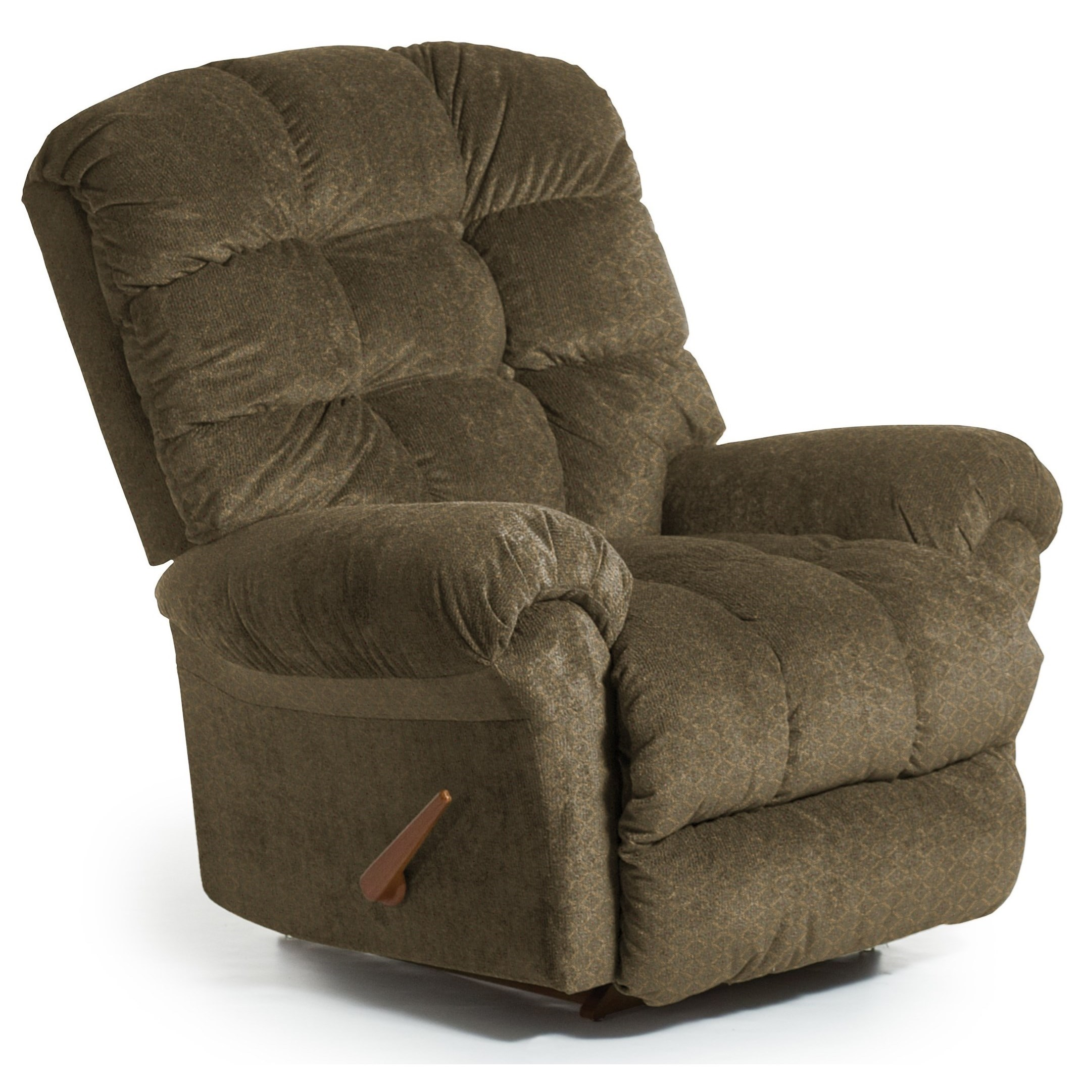 Recliners - BodyRest BodyRest Rocker Recliner by Bravo Furniture at Bennett's Furniture and Mattresses