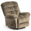 Best Home Furnishings Recliners - BodyRest Denton BodyRest Rocker Recliner - Item Number: -1207714424-20007
