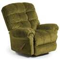 Best Home Furnishings Recliners - BodyRest Denton BodyRest Rocker Recliner - Item Number: -1207714424-20131