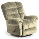 Best Home Furnishings Recliners - BodyRest Denton BodyRest Rocker Recliner - Item Number: -1207714424-20137
