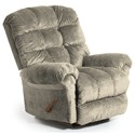 Best Home Furnishings Recliners - BodyRest Denton BodyRest Rocker Recliner - Item Number: -1207714424-20777