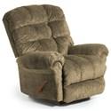 Best Home Furnishings Recliners - BodyRest Denton BodyRest Rocker Recliner - Item Number: -1207714424-21247