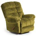 Best Home Furnishings Recliners - BodyRest Denton BodyRest Rocker Recliner - Item Number: -1207714424-21921