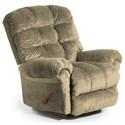 Best Home Furnishings Recliners - BodyRest Denton BodyRest Rocker Recliner - Item Number: -1207714424-21927