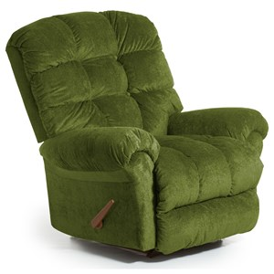 Best Home Furnishings Recliners - BodyRest Denton BodyRest Rocker Recliner