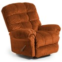 Best Home Furnishings Recliners - BodyRest Denton BodyRest Rocker Recliner - Item Number: -1207714424-22174