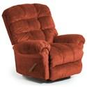 Best Home Furnishings Recliners - BodyRest Denton BodyRest Rocker Recliner - Item Number: -1207714424-23164